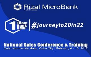 Rizal MicroBank Sales Kickoff 2017
